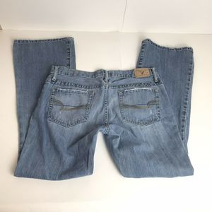 American Eagle Hipster Skinny Flare jean